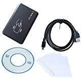 125Khz RFID ID Karten Leser USB RFID Reader + 5 PCS Schreibbar T5557 Karten + Kopierer Tool Kein Treiber Software für Zugangskontrolle von NORDSD