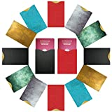FreeHaveFun RFID Schutzhüllen NFC Blocker (14 Stück) 100% RFID Schutz vor Auslesen   12 RIFD Hüllen für Kreditkarten Personalausweis + 2 x Reisepass NFC Blocking Schutzhülle