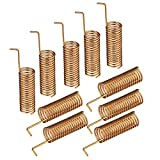 Eightwood 868 MHz Antenne Helical Antenne 10pcs DIY Federantenne für Homematic CCU3 CCU2 Raspberry Pi-HM-MOD-RPI-PCB-Bausatz Wireless Module Antenne MEHRWEG
