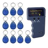 lzn Handheld RFID ID Card Kopierer/Leser/Writer 6 Schreibbare Tags/6 Karten