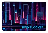 RFID NFC Blocker Karte - Störsender ohne Batterie - Eine Schutzkarte schützt Ihre gesamte Geldbörse gegen Datendiebstahl! Blocking Schutz für NFC Bankkarte, Kreditkarte, EC Karte,e-Perso,eID (Gold)