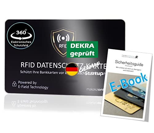 MakakaOnTheRun® RFID Blocker Karte -...
