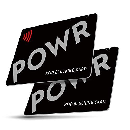 RFID Blocker Karte - (2 Stück) - NFC...