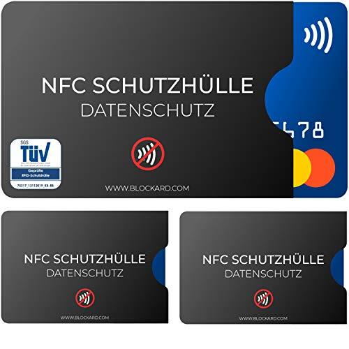 TÜV geprüfte NFC Schutzhülle (3...