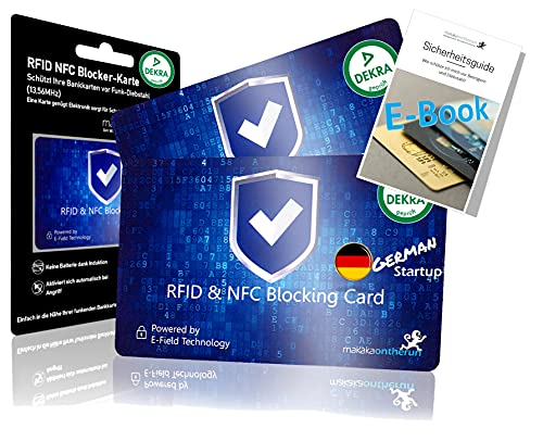 DEKRA gepr. RFID Blocker Karte Ultra...